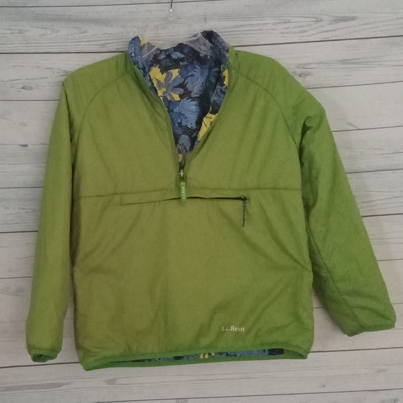 L.L. Bean Other - L.L. Bean reversible 1/4 zip pullover medium 10-12